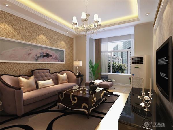 """本案为东壹区户型图两室两厅一厨一卫70㎡的户型。这次的设计风格定义为""""简欧风格""""。"""