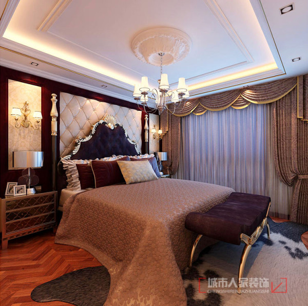 主卧室整体