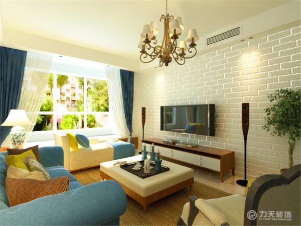 本案为海上国际城2室2厅1厨1卫109.58㎡的户型。这次的设计风格定义为北欧风格。