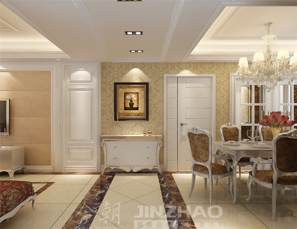 本设计注重细节的设计和用色,墙面简单干脆利落,在表达时尚的同时不缺乏艺术感。