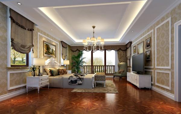 康城暖山卧室设计图