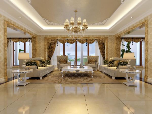 康城暖山客厅设计图