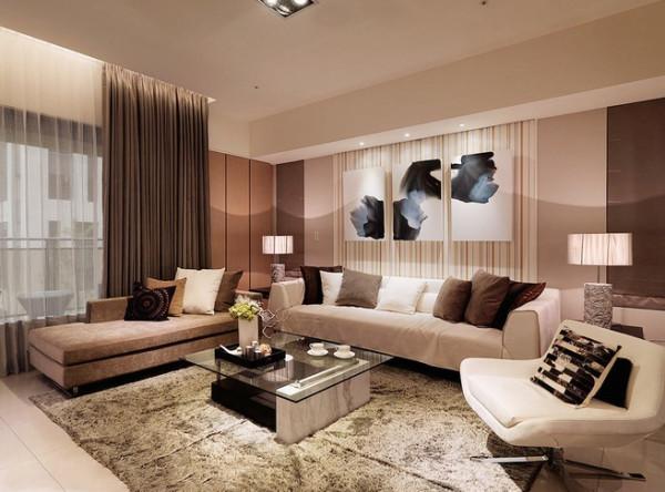 东胜紫御-175平米三居装修设计效果图
