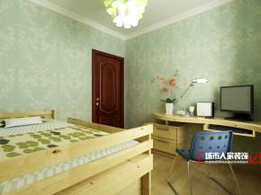 欧式 三居 舒适 公主房 卧室图片来自石家庄装修装饰设计公司在瑞成F区125平欧式奢华的分享