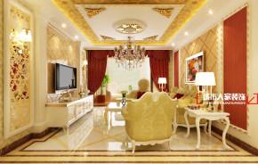 欧式 三居 舒适 公主房 客厅图片来自石家庄装修装饰设计公司在瑞成F区125平欧式奢华的分享