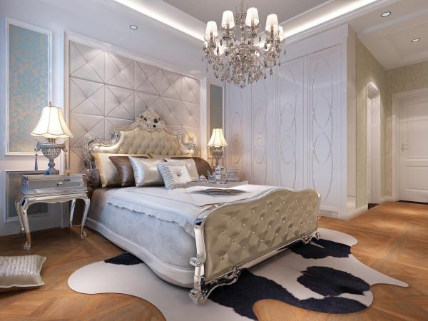 0 主卧室 床头背景墙和衣柜 标签:                欧式