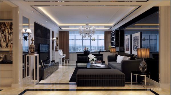在确立风格之后,又考虑到利用了挂画设计,这个布局以实现特定需要的风格情调。房屋结构,最大限度地获得了自然采光的优势,采用了暖色的大理石拼花创造了一个温暖浪漫的阳光通道。