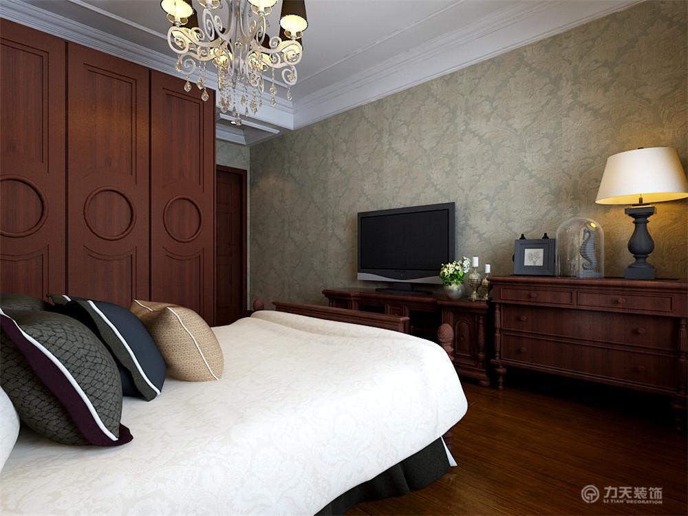 卧室的造型很简单,飘窗做成了柜子,既增加了卧储物空间也可以在上面图片