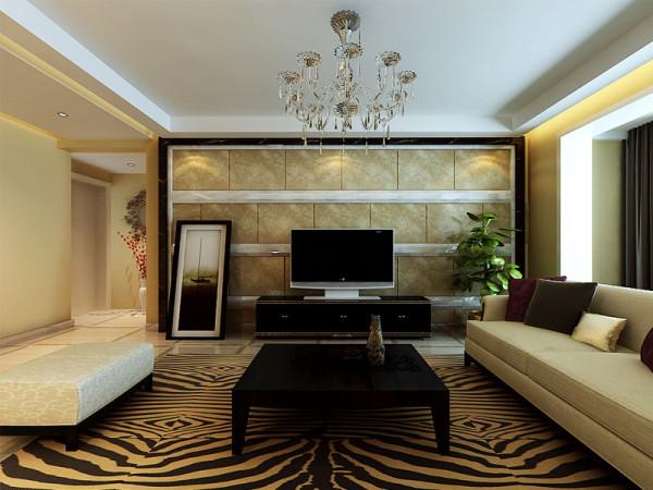 石家庄业之峰装饰-紫阁140平米现代简约装修效果图