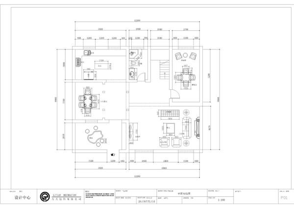 复地温莎堡-295.14平米-法式风格