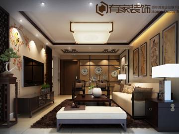 红星苑---二居室---新中式