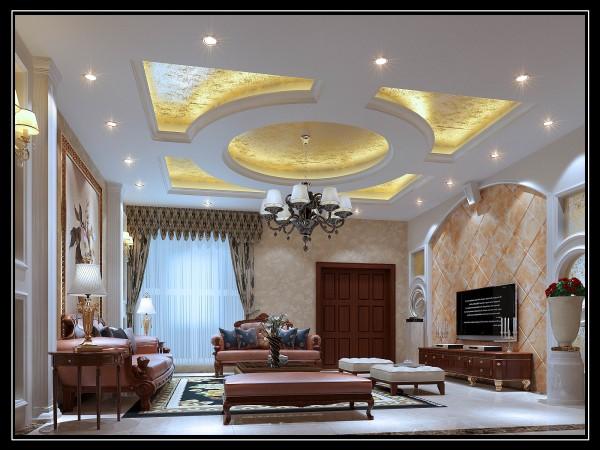 欧式风格的客厅