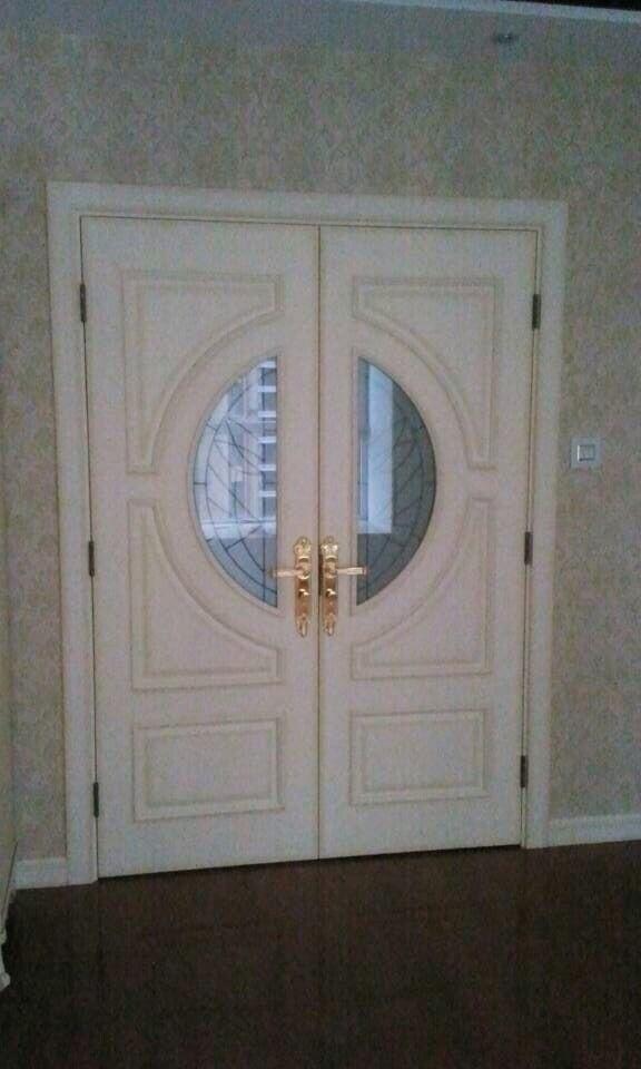 入户对开门
