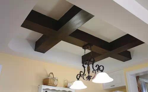 餐厅吊顶及灯具