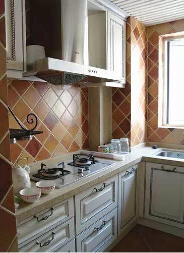 厨房,纯正美式风格