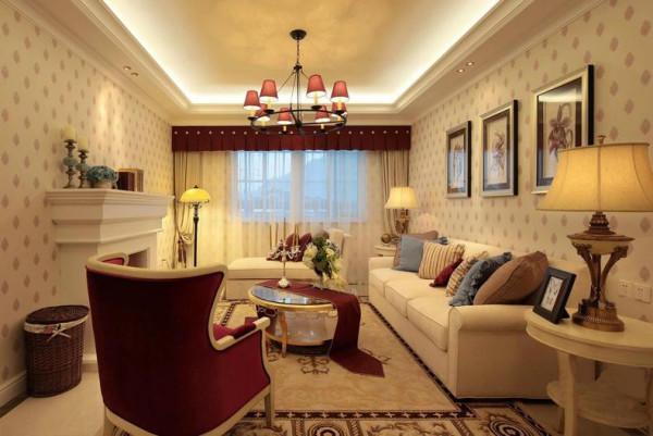 本案为金融中心三室1厅1厨1卫的户型。这次的设计风格定义为田园风格。