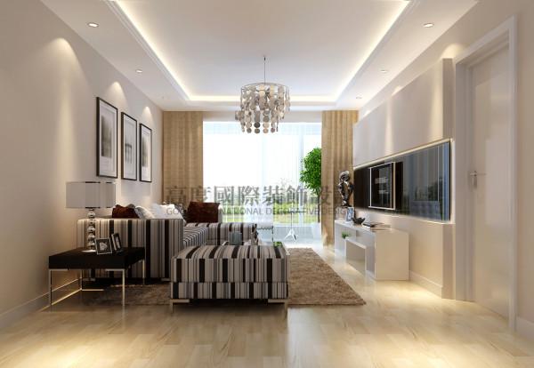 南湖国际客厅效果细节图 成都高度国际装饰设计