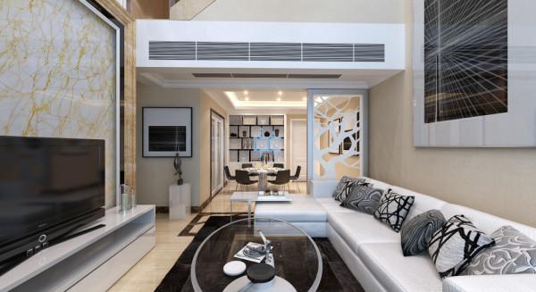 设计理念:客厅是家居环境中的视觉中心,开放性与宽敞性是它的特点之一。