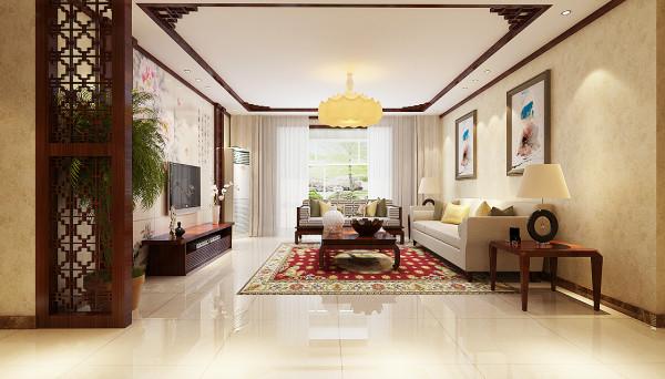 客厅整体设计效果