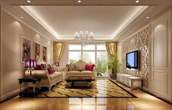 它没有欧式奢华华丽的表象,却有着欧式的优雅高贵,也很符合中国人的审美价值。