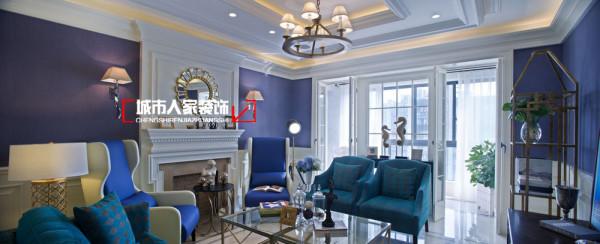 客厅中的吊顶设计展示