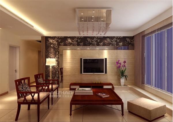 西安金业观湖大第-121平三居室-中式风格(本小区装修设计56套)