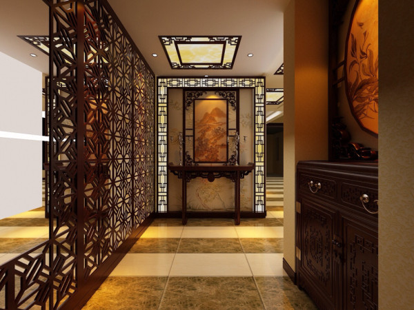 式风格装修带给人庄重与优雅的双重感受,一直以来,中式风格装修都以它气势恢弘、壮丽华贵、高空间、大进深、雕梁画栋、金碧辉煌的风格吸引无数人的眼球、震撼无数人的心。