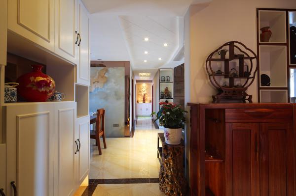 葛洲坝世际花园156平,顶层复式,四室两厅,混搭风格装修,完工实景效果图