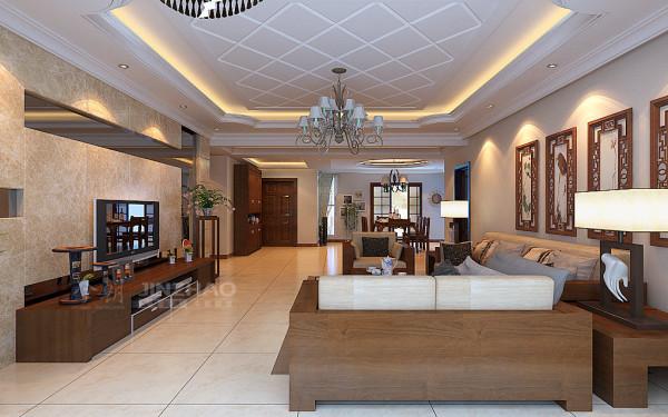 西安九锦台-221平四居室--简中式风格(本小区装修设计56套)