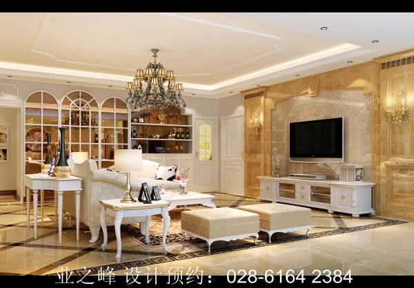 客厅暖色调设计给人以高贵、浪漫的情调