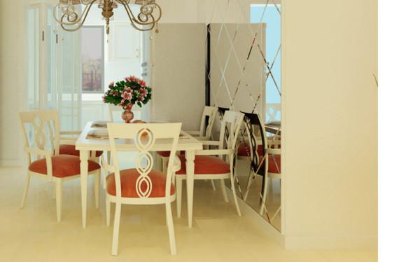 根据业主的要求结合设计理念,在不影响房屋承重的情况下对厨卫空间进行了墙体的拆除和新建。同居室整体设计相协调这一基本原则并考虑餐厅的实用功能和美化效果。