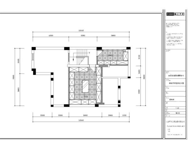 阁楼平面方案 本案白色作为空间的主色调,营造出高雅、清新的欧式氛围,同时配上了古典的摆设(如果盘、画、茶几等,使整个空间尽显古典的风韵,又与现代的审美观点完美地融为一体。