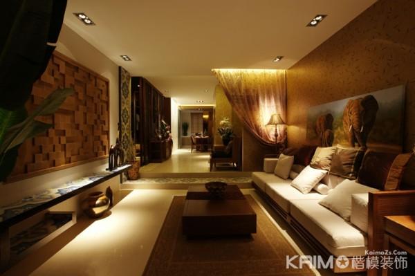 豪华的客厅