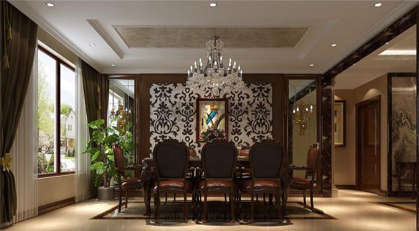 恒大金碧天下餐厅效果细节图 成都高度国际装饰设计