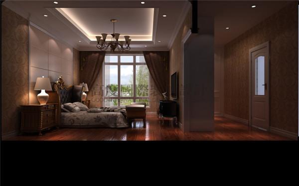 中德英伦联邦卧室效果细节图 成都高度国际装饰设计