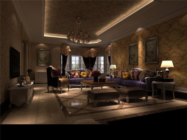 东骏湖景湾客厅效果细节图 成都高度国际装饰设计
