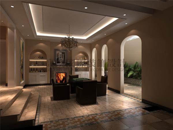中德英伦联邦休息室效果细节图 成都高度国际装饰设计