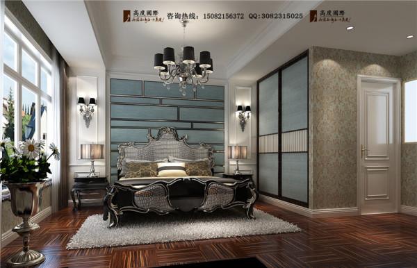 保利心语卧室细节效果图-成都高度国际