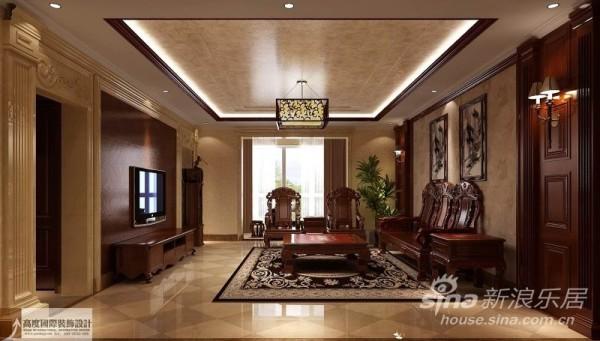 中式风格是以宫廷建筑为代表的中国古典建筑的室内装饰设计艺术风格,气势恢弘、壮丽华贵、高空间、大进深、雕梁画栋、金碧辉煌,造型讲究对称