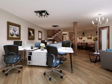 90平loft-典雅现代私人会所