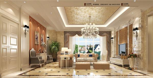 佳乐国际客厅细节效果图-成都高度国际装饰