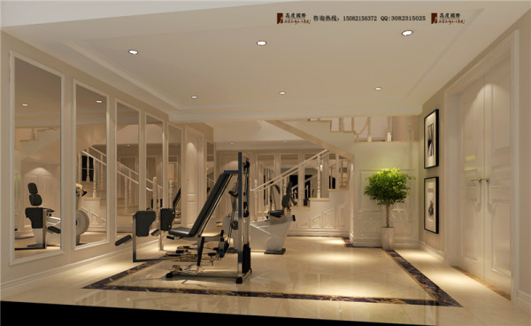 佳乐国际健身房细节效果图-成都高度国际装饰