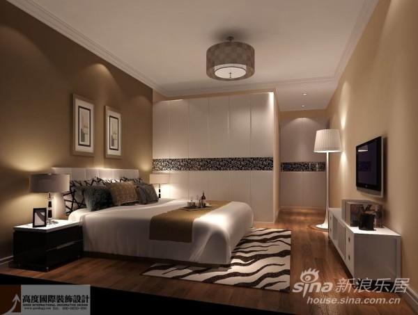 大量使用的白色调把欧式风格设计融入现代设计中浑然一体家居风格