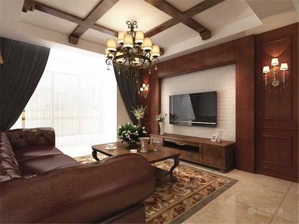 此户型为天津奥莱城小高层标准层A户型2室2厅1卫1厨,建筑面积96.0㎡。设计风格为美式风格。