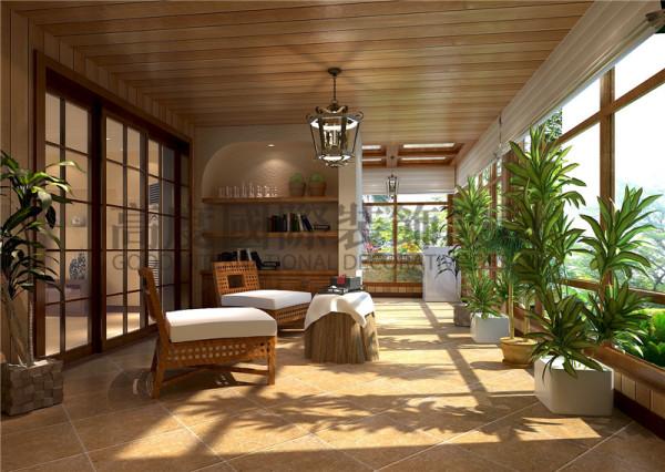 成都高度国际装饰设计-阳台