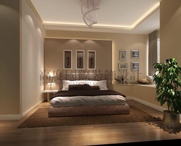 西班牙森林卧室效果细节图 成都高度国际装饰设计