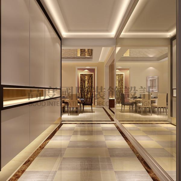 西班牙森林玄关效果细节图 成都高度国际装饰设计