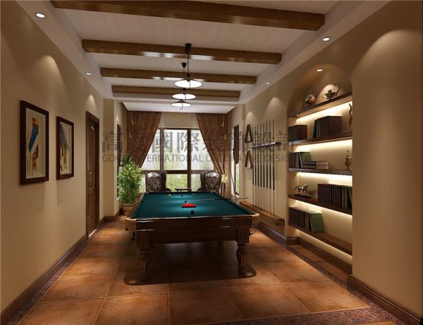 成都高度国际装饰设计-休闲室