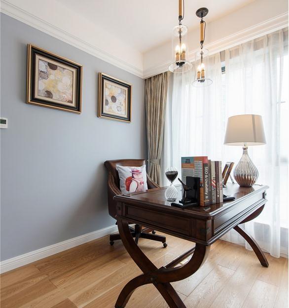 书房墙壁颜色可以缓解疲劳