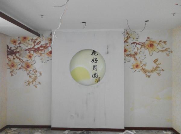 两幅壁画拼图